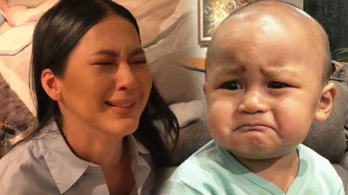 Baim Wong Sedih Ungkap Kondisi Kiano Usai Paula Verhoeven Positif Covid-19: Dia Manja Sama Mamanya
