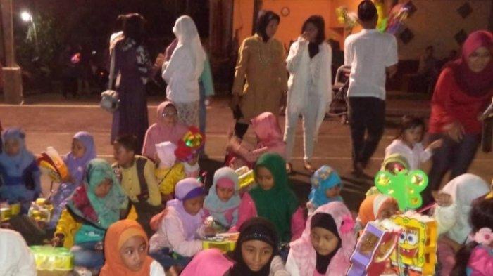 Pawai Keliling di Kerinci Jadi Tradisi Unik Sambut Bukan Ramadhan, Sarana Silaturahmi Antar Warga