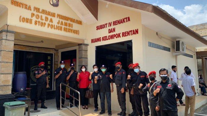 Pengurus DPD PDIP Provinsi Jambi Laporkan Akun Yang Sebut Megawati Sakit dan Koma