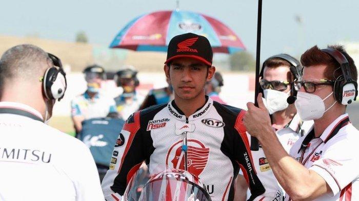 Jadwal Moto2 Portugal Live Streaming Trans7 Minggu Ini, Andi Gilang di Idemitsu Honda Team Asia