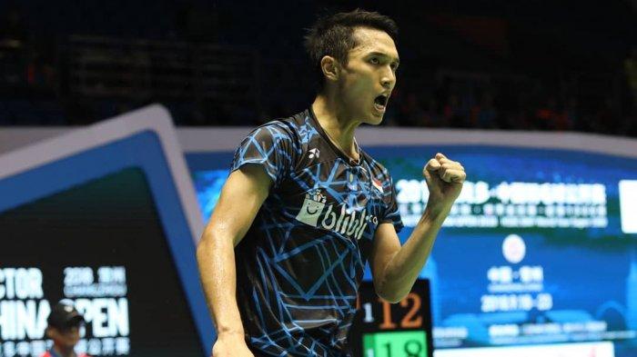 Sedang Tanding Tonton TV Online Live Streaming Jonatan Christie Main Hong kong Open 2018 Mulai