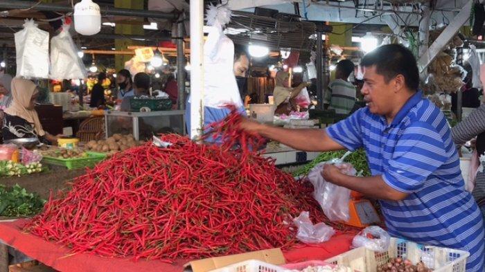 Pasokan Bertambah, Cabai Merah dan Rawit di Jambi Turun Harga Lagi Hari Ini