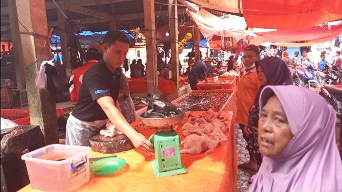Sudah Seminggu Puasa Ramadhan, Harga Ayam Potong di Kabupaten Tebo Masih Tinggi