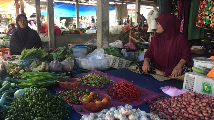 Harga Sembako di Pasar Sengeti Stabil, Pedagang Malah Keluhkan Pembeli yang Sepi