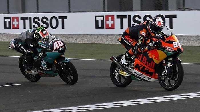 HASIL Moto3 Doha 2021, Pebalap Indonesia Gresini Finis di Posisi 10 Usai Terlempar di 2 Lap Terakhir