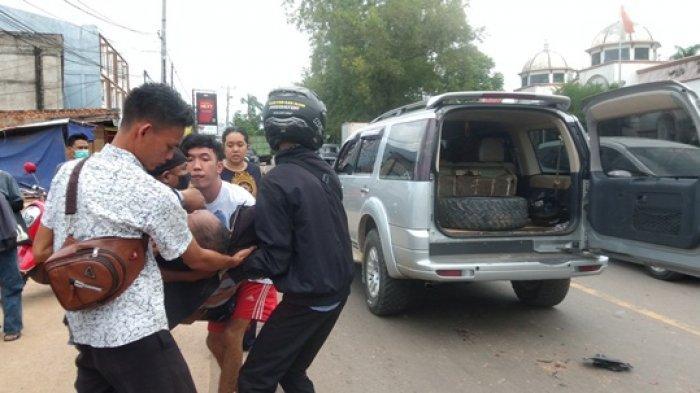 BREAKING NEWS Pegawai Lapas Muara Bulian Kritis Dilindas Truk di Kenali Asam