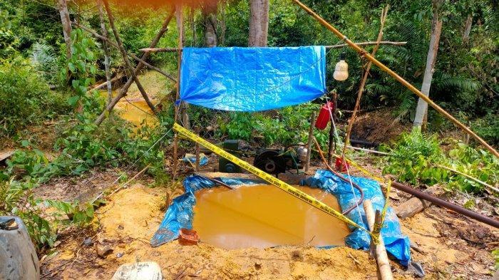 Pekerja Ilegal Driling di Desa Bungku Pindah Lokasi ke Maro Sebo Ilir, Dirigkus Polisi Usai Ngebor