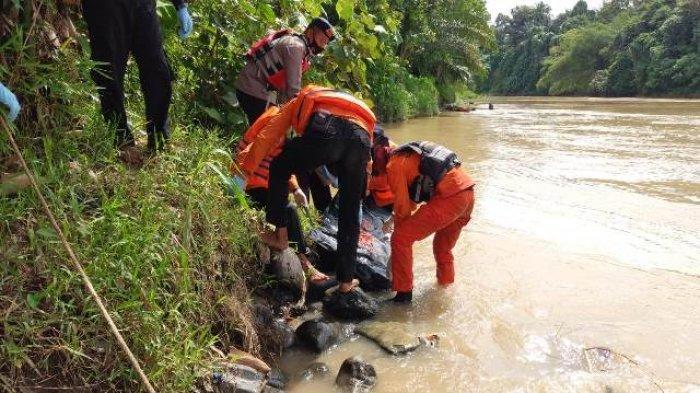 Jenazah Haris Ditemukan 800 Meter dari Jembatan Merangin, Tali Diduga Tersangkut