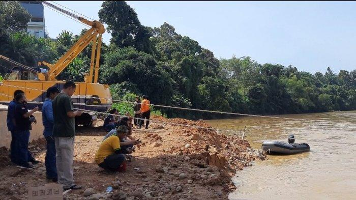 Satu Pekerja Jembatan Merangin Tenggelam Setelah Tali di Badan Putus, Kapolsek Ungkap Kronologisnya