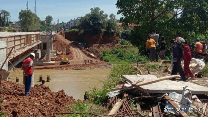 Pekerja Jembatan di Merangin Tenggelam, Haris Tak Muncul Lagi Setelah Dua Menit Menyelam