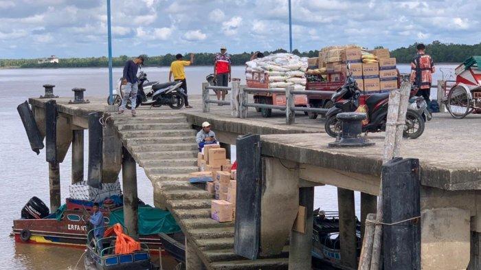 Hari Keempat Larangan Mudik, Pelabuhan LLASDP Kuala Tungkal Terpantau Sepi
