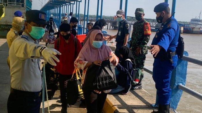 2 Warga Jambi Gagal Berangkat Dari Kuala Tungkal Naik Kapal Tujuan Batam Karena Reaktif Covid-19