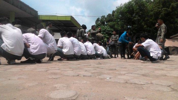 Polisi Dalami Keterangan 10 Pelajar yang Diamankan Dalam Satu Kamar Kos di Kota Jambi