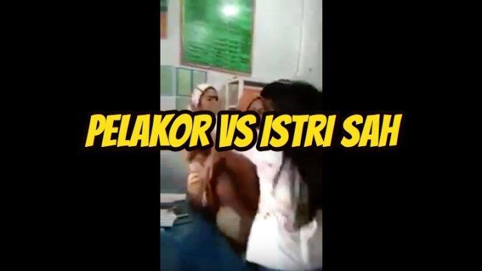 VIDEO Detik-detik Istri Sah Pergoki & Telanjangi Selingkuhan Suaminya, Viral di Facebook, Pakai Ini