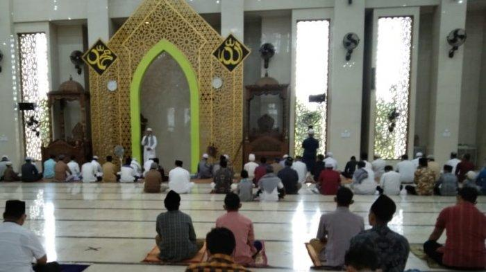 Masjid Agung Al-Ittihad Tebo Tetap Selenggarakan Salat Ied Dengan Protokol Kesehatan
