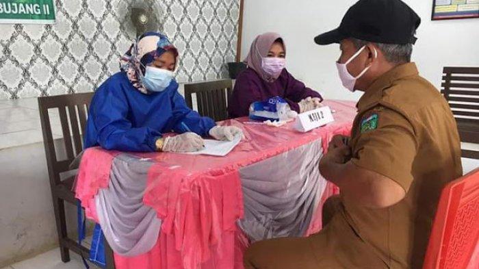 Puskesmas Rimbo Bujang II Jalani Vaksinasi Covid-19 Tahap Pertama