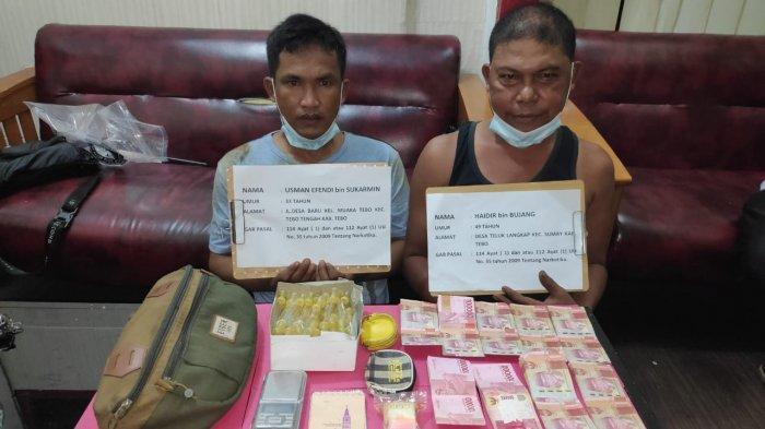Satresnarkoba Polres Tebo Tangkap Dua Bandar Narkoba