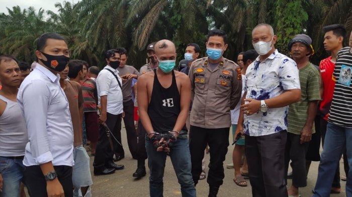 Pelaku Begal di Bungo Gagal Kabur, Rantai Sepeda Motornya Putus, Langsung Diamankan Warga