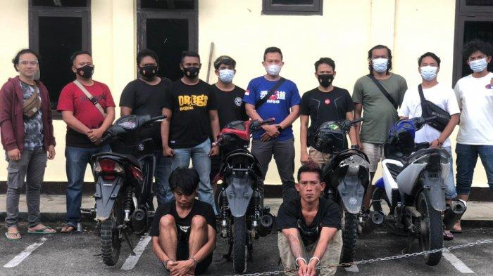 Dua Pelaku Curanmor di Tebo Ditangkap, Polisi Amankan 7 Sepeda Motor