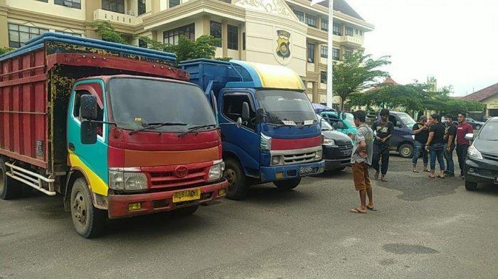 BREAKING NEWS Ringkus 5 Pelaku Polda Jambi Amankan 11 Ton Minyak Illegal Drilling dari Bajubang