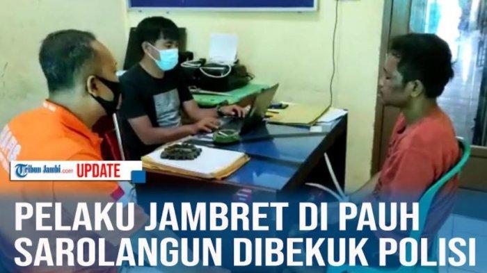 VIDEO: Pelaku Jambret di Pauh Sarolangun Jambi di Bekuk Polisi