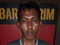 Nekat Menjambret HP di Warung Korban, Pria Ini Berakhir di Polsek Maro Sebo Kabupaten Muarojambi