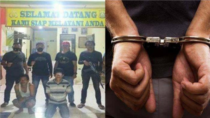 Buronan Pembunuh Pencuri Karet Ditangkap Tim Macan Komering, Korban Dibacok dan Dibenamkan ke Rawa