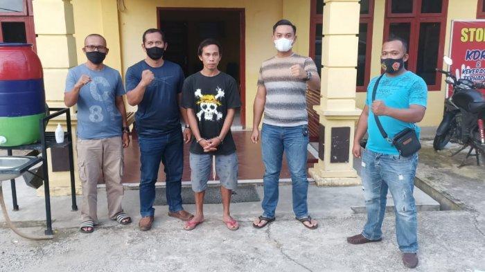 Pelaku Pembunuhan di Sarolangun Berhasil Ditangkap di Desa Lubuk Bedorong Setelah Buron 3 Hari