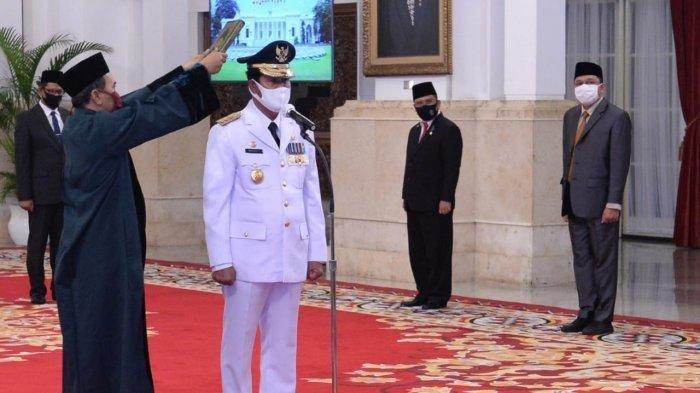 Jokowi Tak Langsung Serahkan Keppres, Gubernur Kepri: Jangan Cemas ya