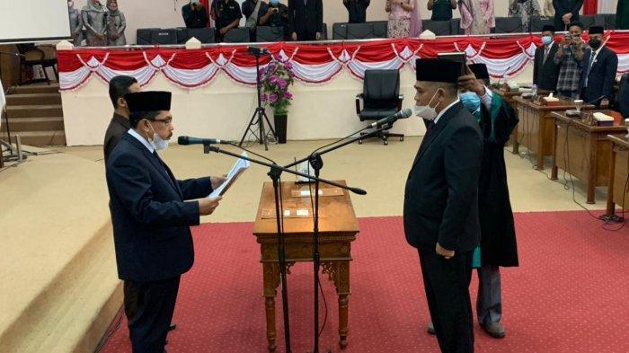 Gantikan Almarhum H Syaifudin, Hasbi Jadi Anggota DPRD Tanjabbar