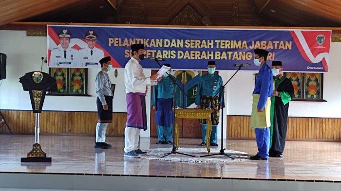 M Azan Dilantik Sebagai Sekda Definitif, Fadhil Arief: Kapten Tim ASN Perlu Tingkatkan Sinergisitas