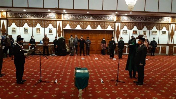 Sudirman Dilantik Jadi Sekda, Banyak Jabatan Kepala OPD di Pemprov Jambi Kosong