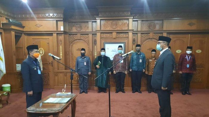 Gubernur Jambi Kembali Melantik Sudirman Sebagai Pj Sekda untuk Ketiga Kalinya