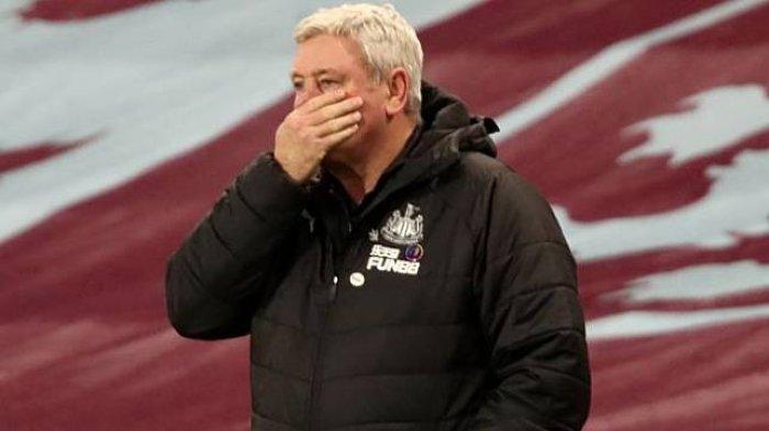 Pelatih Newcastle United, Steve Bruce yang kemungkinan bisa dipecat usai klub dibeli Putra Mahkota Arab Saudi