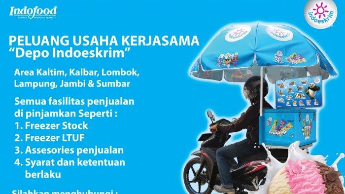 Peluang Usaha Kerjasama Depo Indoeskrim Di Jambi Dipinjami Fasilitas Minat Hubungi Nomor Ini Tribun Jambi