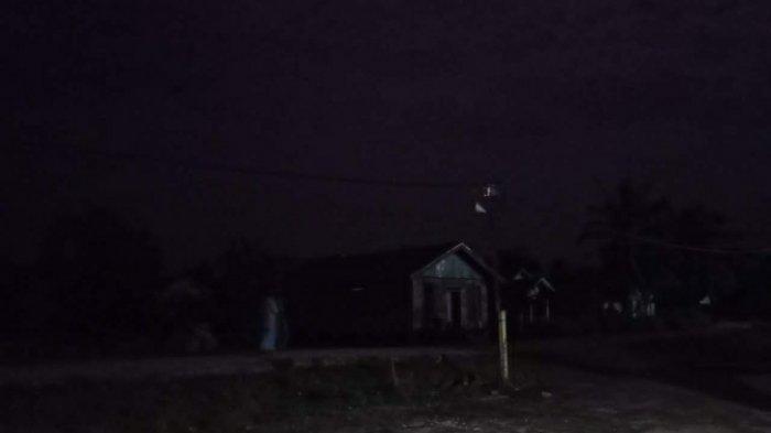 Dua Hari Dua Malam, Tiga Desa di Kecamatan Kumpeh Ilir Muarojambi Gelap Gulita Mati Lampu