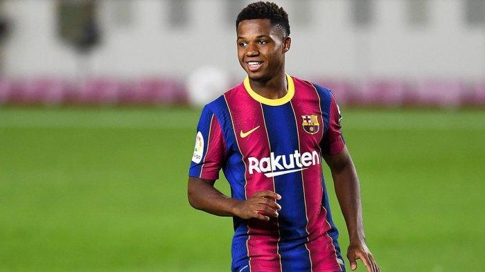 Pemain muda Barcelona, Ansu Fati