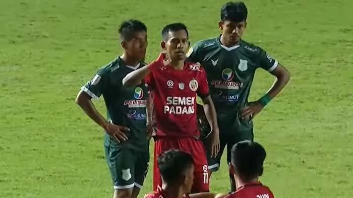 PSMS Medan Cetak Gol Kedua, Unggul Lawan Semen Padang Walau Kalah Jumlah Pemain