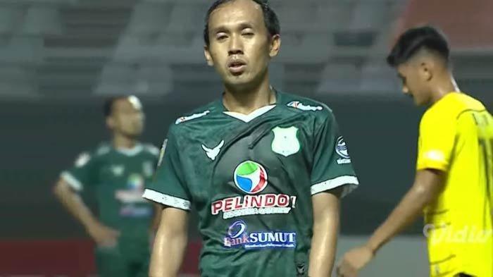 Pemain PSMS Medan Ichsan Pratama Cetak Gol, KS Tiga Naga Tertinggal Satu Gol