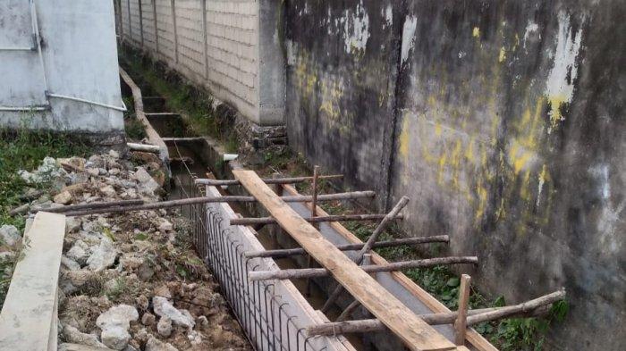 Pembangunan Drainase di BTN Bungo Diprotes Warga, Masih Layak Fungsi Malah Dibangun Baru