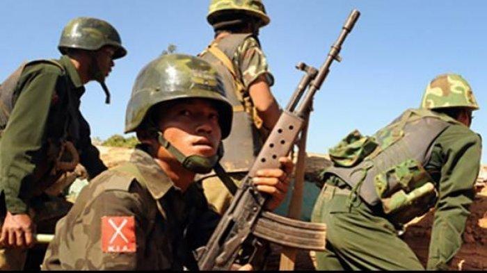 Junta Militer Myanmar Terdesak, Kini Pos di Perbatasan China Dikuasai Pemberontak Kachin