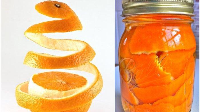 Kulit Jeruk Campur Soda, Fungsinya Menakjubkan