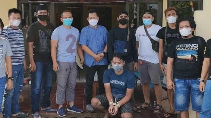 Tersangka pembunuh Plt Kepala BPBD Merangin ditangkap polisi di Sumatera Selata