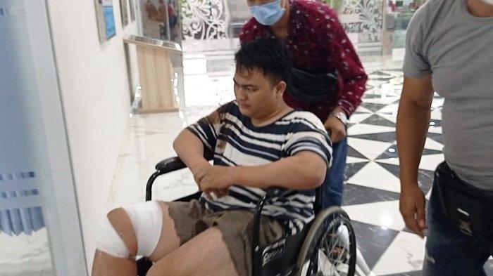 Agus Saputra, tersangka pembunuh Yuliana (25) perempuan muda yang tewas di kamar hotel Rio Palembang, akhirnya ditangkap, Minggu (17/1/2021).