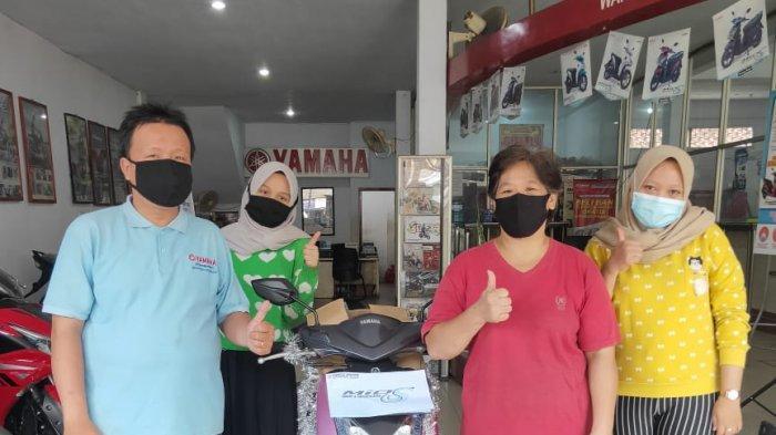 Warga Kota Jambi Raih Grand Prize , Program Beli Motor Hadiah Motor Group Yamaha Panca