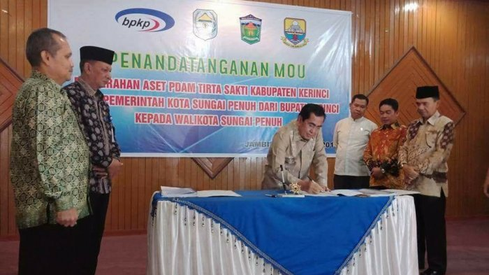 Sungai Penuh Ubah Nama Jadi PDAM Tirta Khayangan, 87 Karyawan Tetap Digaji dari APBD