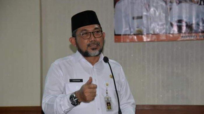 Sekda Buka Bintek Trauma Healing Pasca Bencana di Wilayah Provinsi Jambi Tahun 2021
