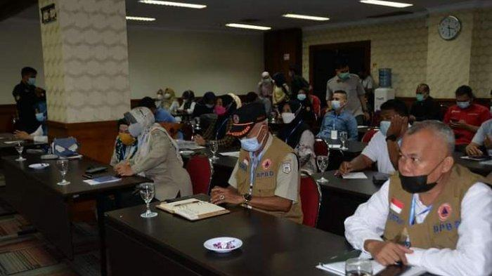 Pemerintah provinsi Jambi melalui Badan Penanggulangan Bencana Daerah (BPBD) melaksanakan Bimtek trauma healing pasca bencana di wilayah provinsi Jambi tahun anggaran 2021.