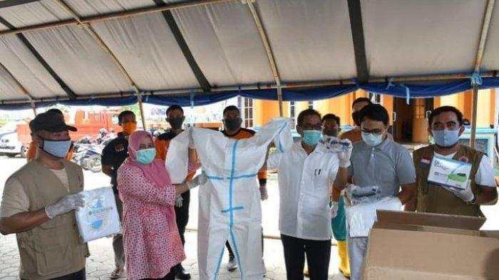 Pemkab Batanghari Terima Bantuan APD dari PT Sinar Mas Grup