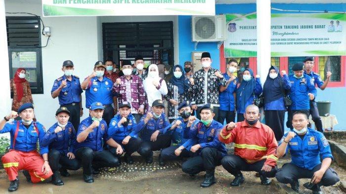 Pemkab Bentuk Posko Damkar di Merlung, Wujud Nyata Perlindungan ke Masyarakat